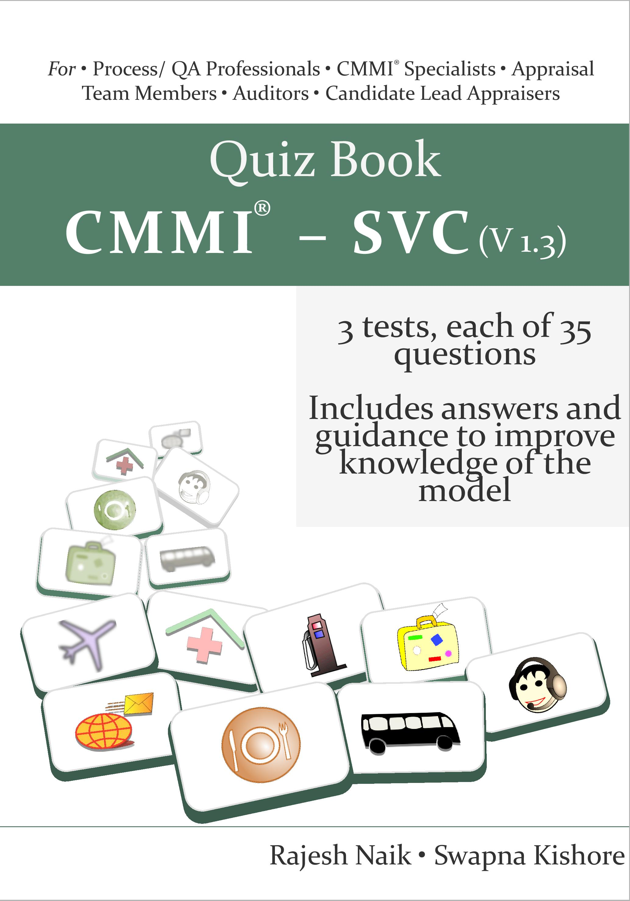 Image forQuiz Book on CMMI- SVC (v1.3)