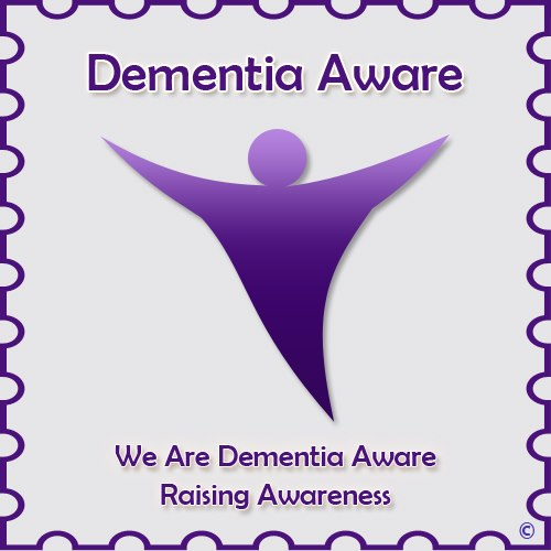Purple Angel: a worldwide emblem for dementia, shared by persons who want to raise awareness of dementia